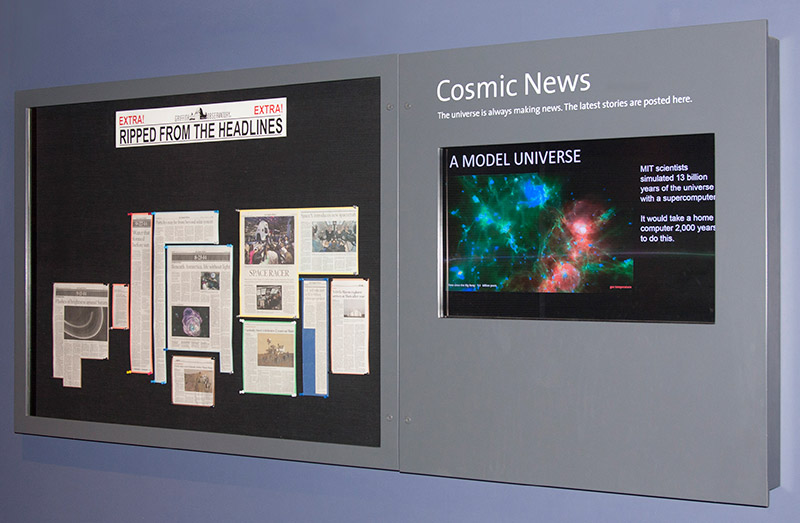 Cosmic News Board