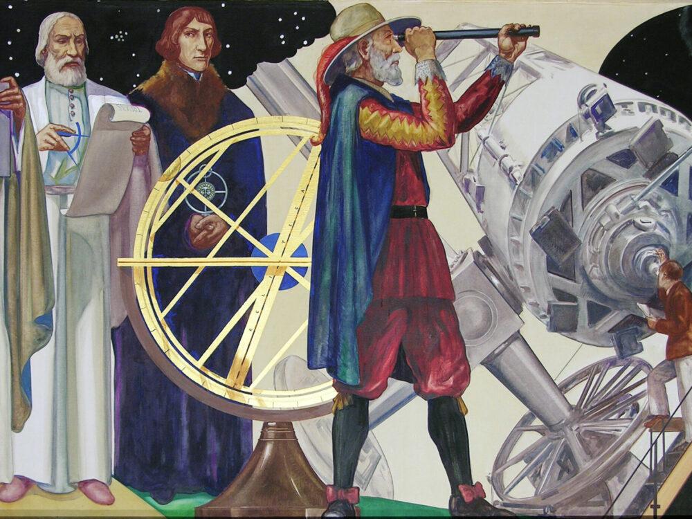 Astronomy Mural