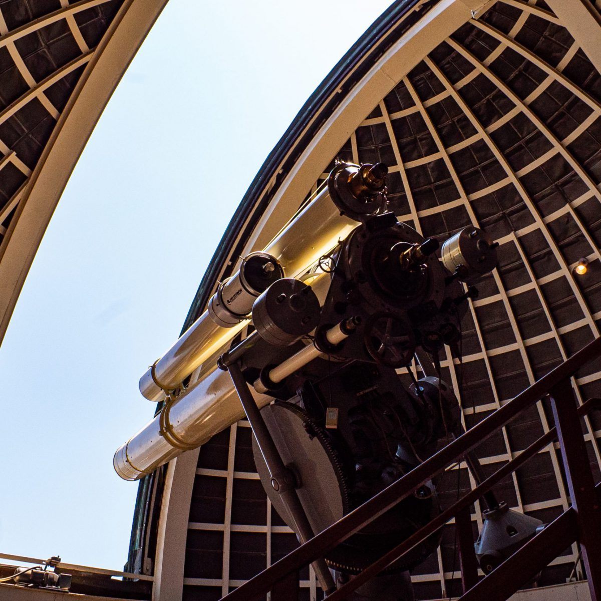 A telescope at the Griffith Observatory.