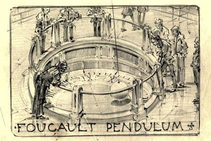 Foucault Pendulum illustration