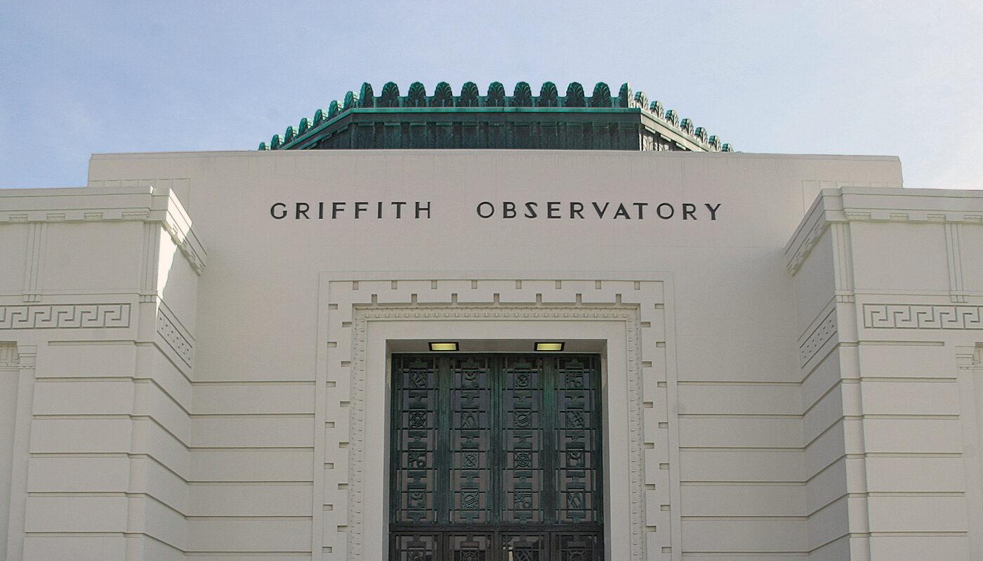 Observatory north doors