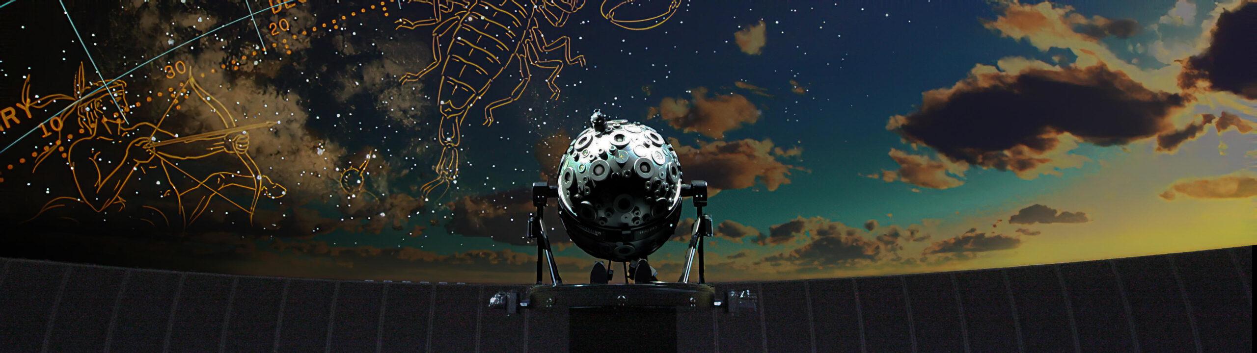 Samuel Oschin Planetarium at the Griffith Observatory.