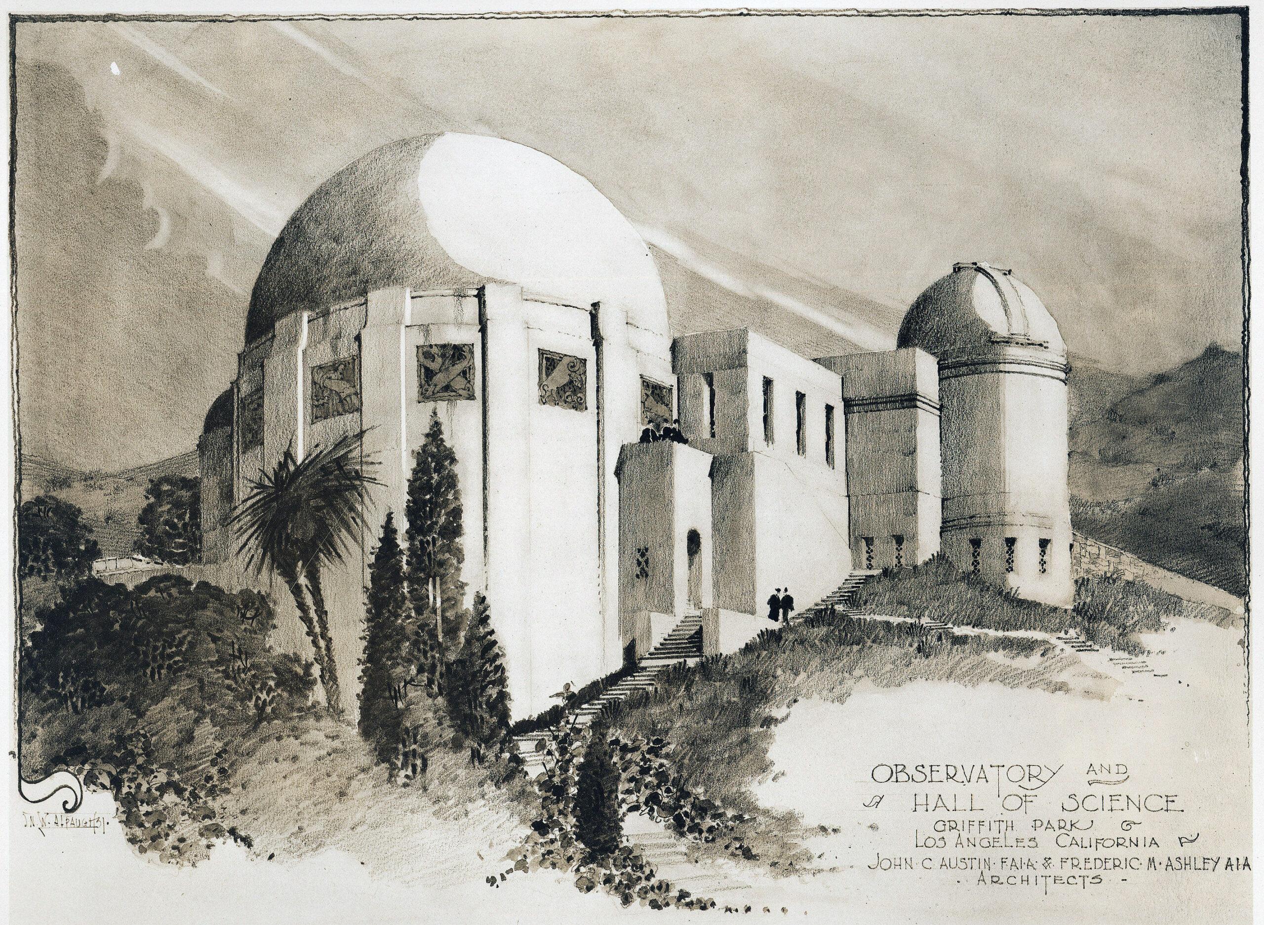 Observatory Illustration