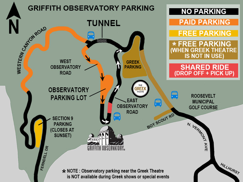 Griffith Observatory Parking